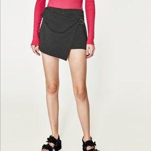 Zara asymmetric skort